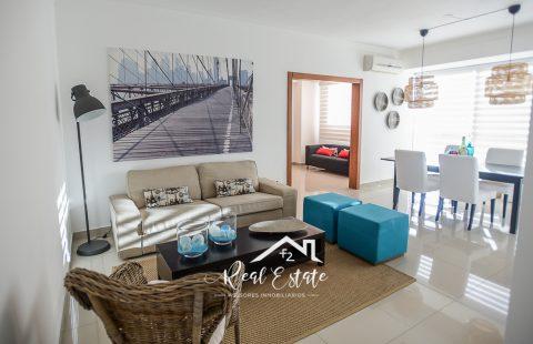 Alquiler Apartamento Amueblado 1 Habitación - Serralles Santo Domingo