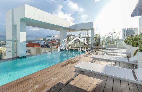 Venta Apartamentos 1 Habitacion Piantini, Santo Domingo